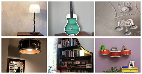 10 clever home decor ideas to max out the style of small 10 brilliant ways to recycle musical instruments