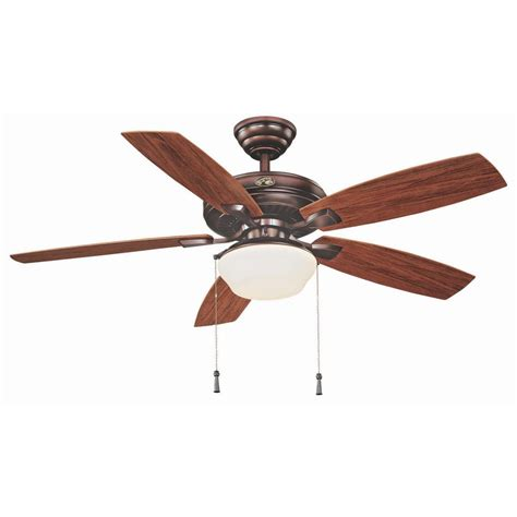52 outdoor ceiling fan hton bay gazebo 52 in led indoor outdoor weathered