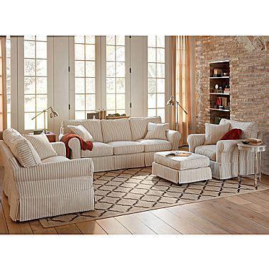 linden friday slipcovered sofa slipcovered sofa grp linden friday stripe