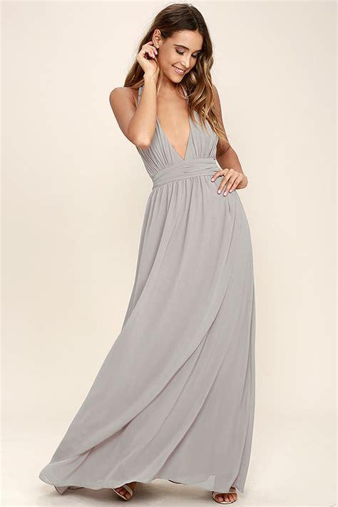 light grey dress lovely light grey dress maxi dress halter dress 84 00