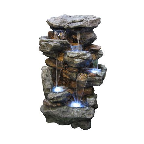 water fountains for gardens home depot lovely jeco gnome