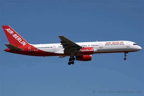 Air Berlin Boeing 757 200 by Boeing B757 200 Operator From All The World Photo