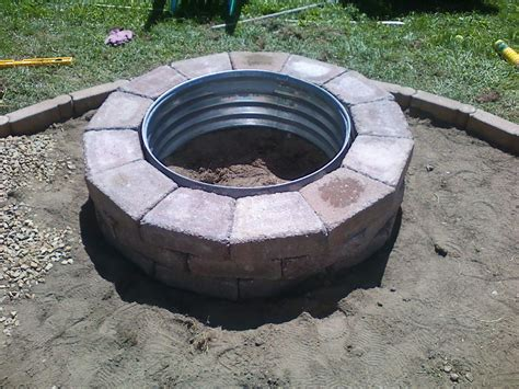 diy steel pit ring diy firepit smalltownjules