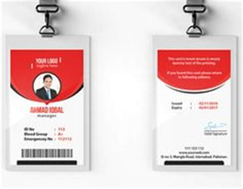 employee id card template free behance employee card format in word 100 employee card template