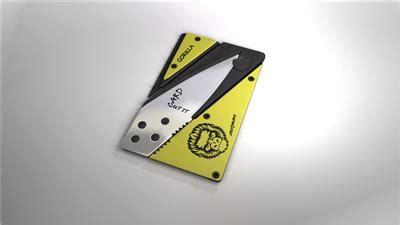 credit card knife multi color folding survival wallet