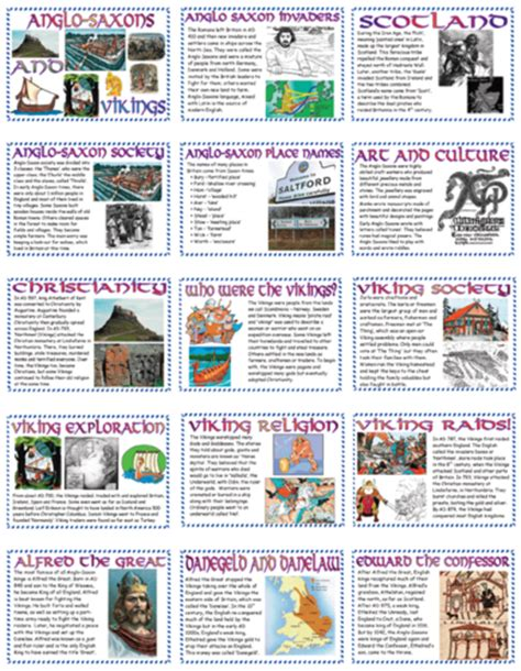 design a menu ks2 anglo saxons and vikings display pack by ashlaura