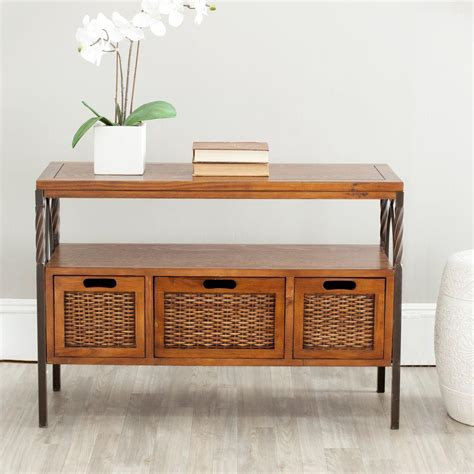 home depot console safavieh chandra ash grey console table amh6551b the