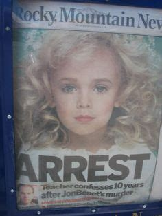 has there ever been a case of someone hacking their 1000 images about jonbenet ramsay death of an innocent