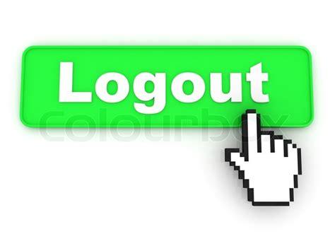 design home logout logout button stock photo colourbox