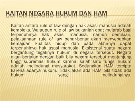 Negara Hukum Ham ppt negara hukum dan ham powerpoint presentation id 5782161