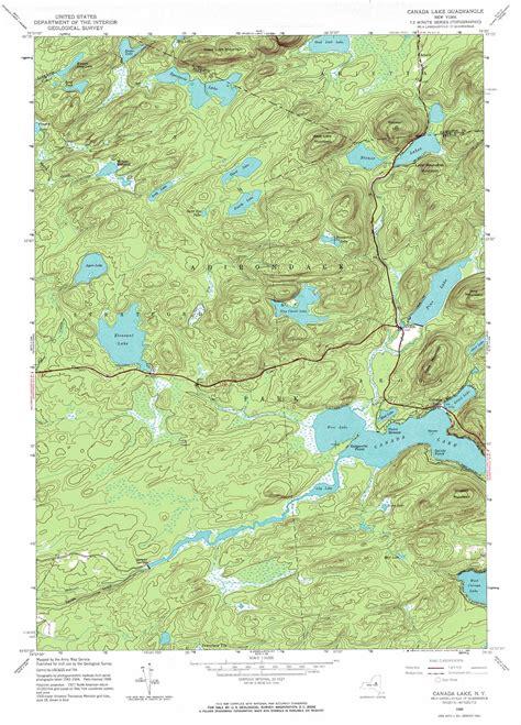 canada lake maps canada lake topographic map ny usgs topo 43074b5