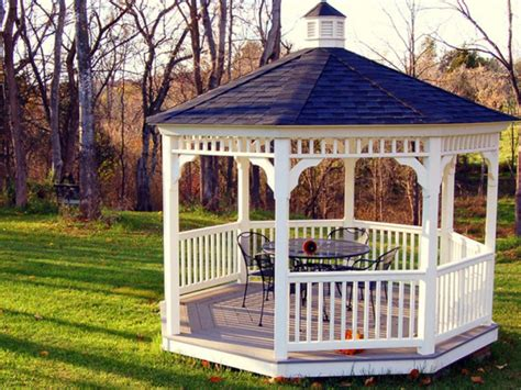 white gazebo pergola and gazebo design trends diy