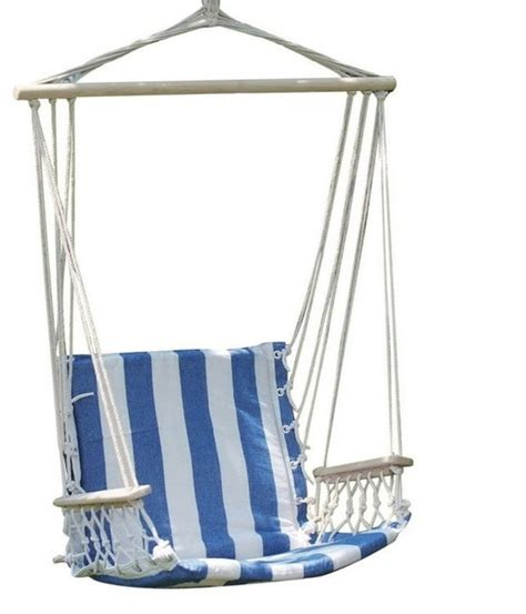 Striped outdoor hammock chair green tropical hammocks and swing chairs by adeco trading