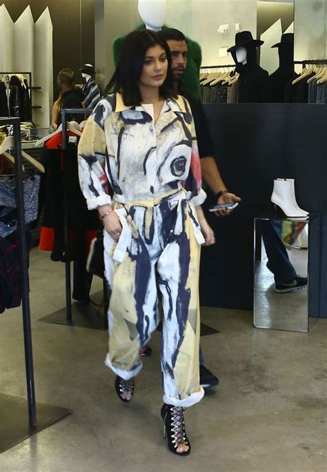 She Sis Jamsuit Sephora Jumpsuit jenner rocks jumpsuit as steps out in miami after welcomes baby boy