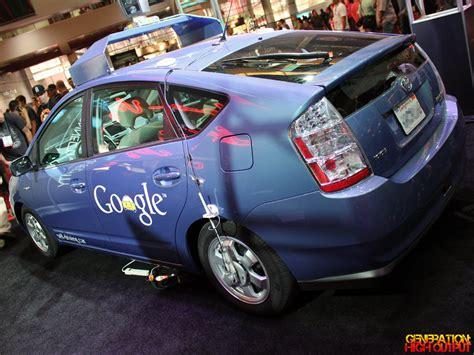 google toyota sema 2012 google s driverless toyota prius genho