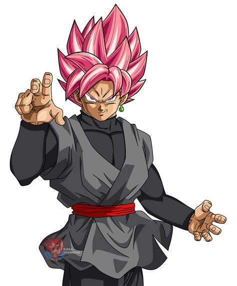 imagenes de goku rose black goku ssj rose render by kogadiamond1080 on deviantart
