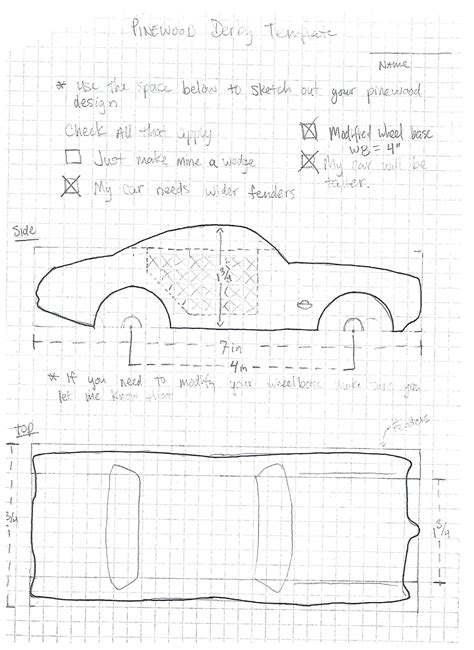 bonus sketchup assignment pinewood derby mr drew s blog
