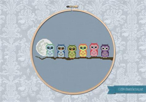 cute little pattern cute little owls on a branch cute little patterns