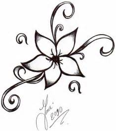 easy to draw flower designs clipart best