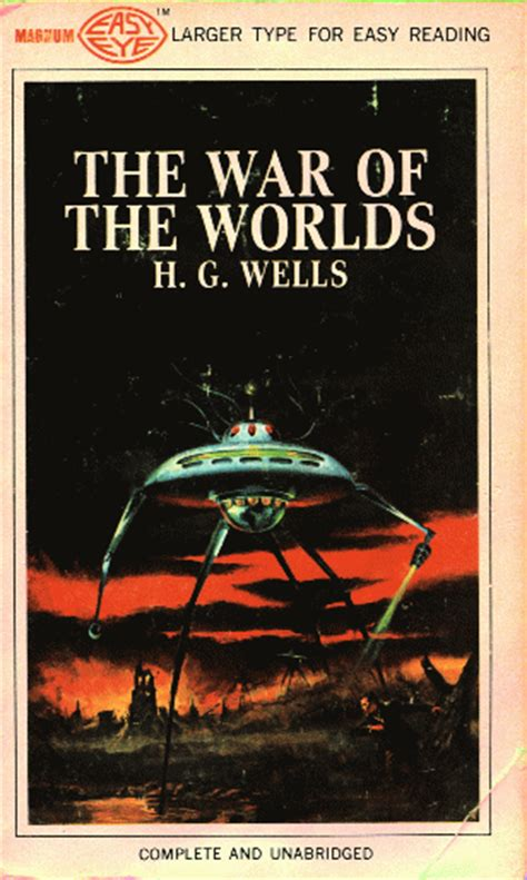 the of war books h g the wars of the worlds