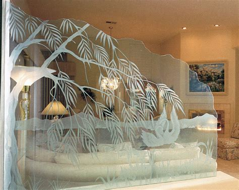 Decorative Glass Partitions Home | decorative glass partitions sans soucie art glass