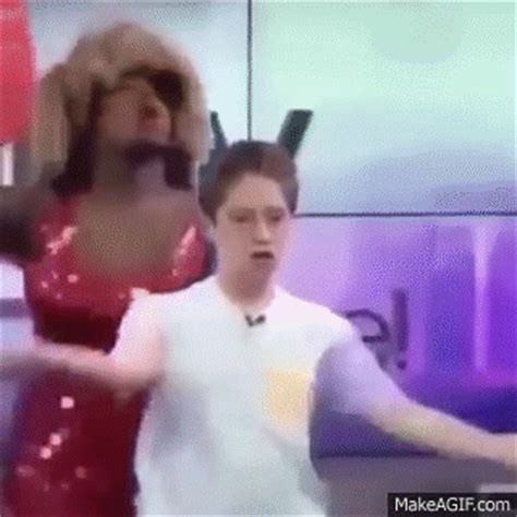 funny gay kid dancing (brendan jordan) on make a gif