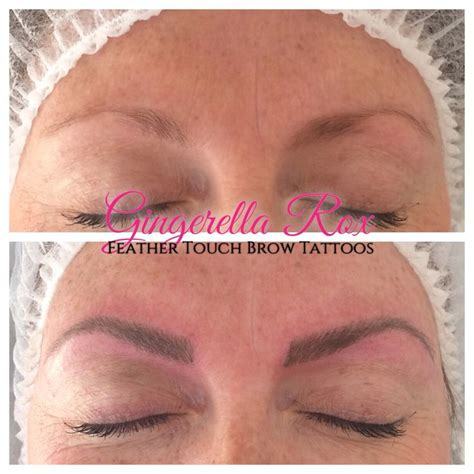 beautiful feather touch brow tattoos done by myself kelly 8 best eyebrows images on pinterest eye brows eyebrows