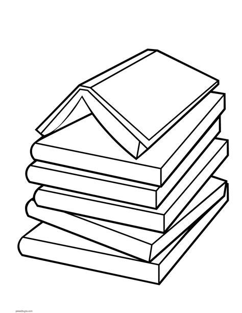 libros para colorear online dibujos de libros para colorear