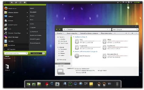 android for pc android icecream sandwich theme for windows 7 pc