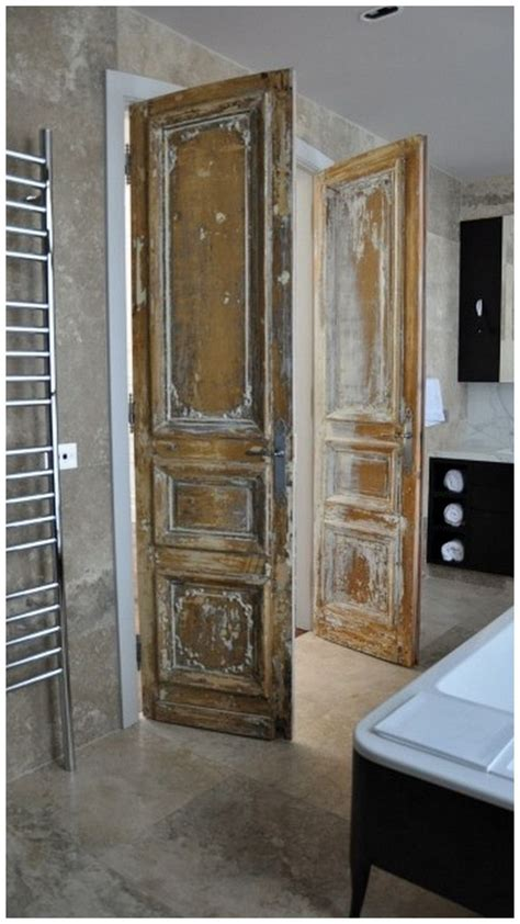 vintage bathroom door 25 best images about salvaged doors on pinterest door headboards rustic country