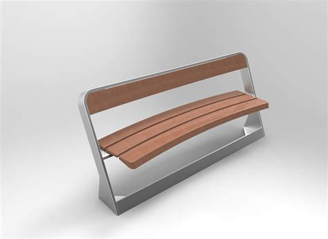Bench Collection by Bench Furniture Collection 3d Model Obj Fbx 3dm