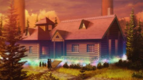 online house review sword art online ii episode 18 forest house
