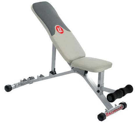 universal bench universal ub300 adjustable bench qvc com