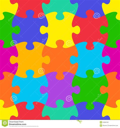 jigsaw pattern svg jigsaw puzzle seamless pattern stock vector image 53958182