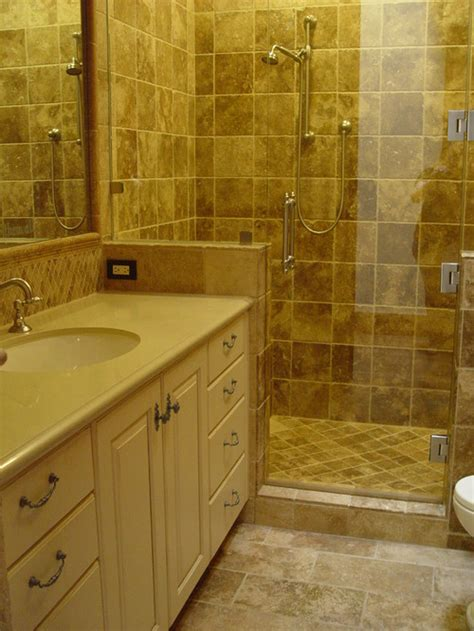 should i a bath or shower should we a granite shower sill or can we use the floor tiles why should we use one more