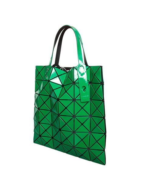 Mesh Panel Shopper Bag lyst bao bao issey miyake lucent prism shopper bag