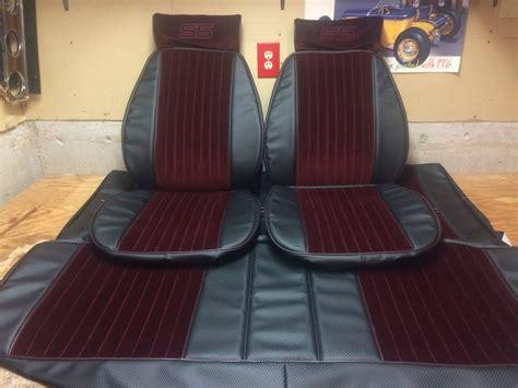 carlos upholstery carbon fiber brick n black monte carlo ss seat upholstery