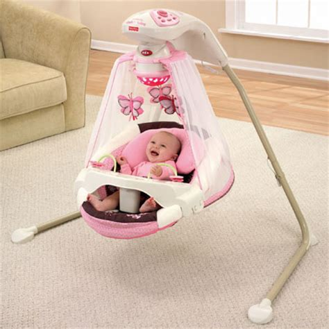 baby sleeping in swing butterfly cradle baby swing offers an excellent place of