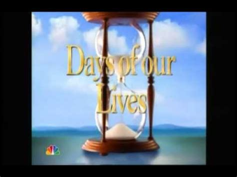 youtube days of our lives days of our lives theme song youtube