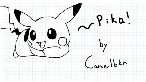 dibujando a pikachu en sketch toy hd youtube