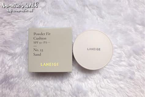 Laneige Powder Fit Bb Cushion laneige powder fit cushion review animetric s world