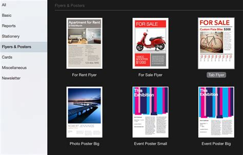 pages flyer templates how to make flyers on mac 5 steps printaholic