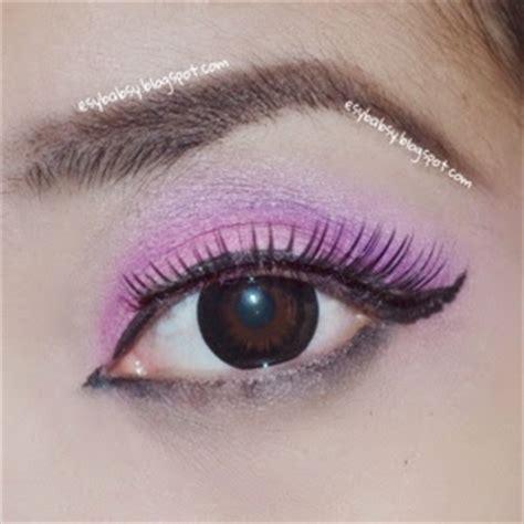 tutorial dandan eyeliner esy beauty blog tutorial pink hues eye makeup