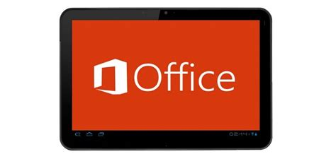 office for android microsoft office for android tablets could arrive in early november report