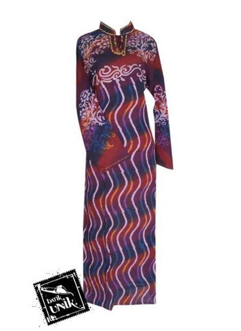 Gamis Payet Buka Pintu 1 baju batik longdress payet motif gelombang pelangi gamis