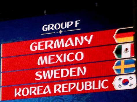 Spiel Deutschland Schweden Wm 2018 In Russland Deutschland Spielt Gegen Mexiko