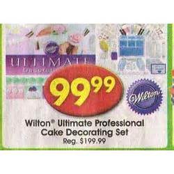 wilton ultimate professional cake decorating set at a c