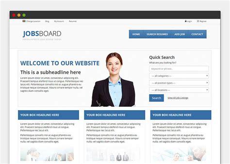 drupal theme job board job board wordpress theme themesparadise