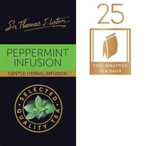 Teh Lipton Peppermint lipton peppermint tea bags teas5860 cos complete
