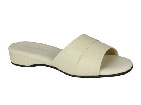 daniel green women s dormie bedroom slippers bone 52301